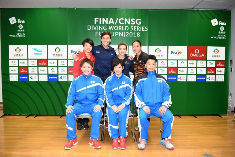 Athletes have headed to Fuji from Beijing, where Chinese divers proved dominant ©FINA