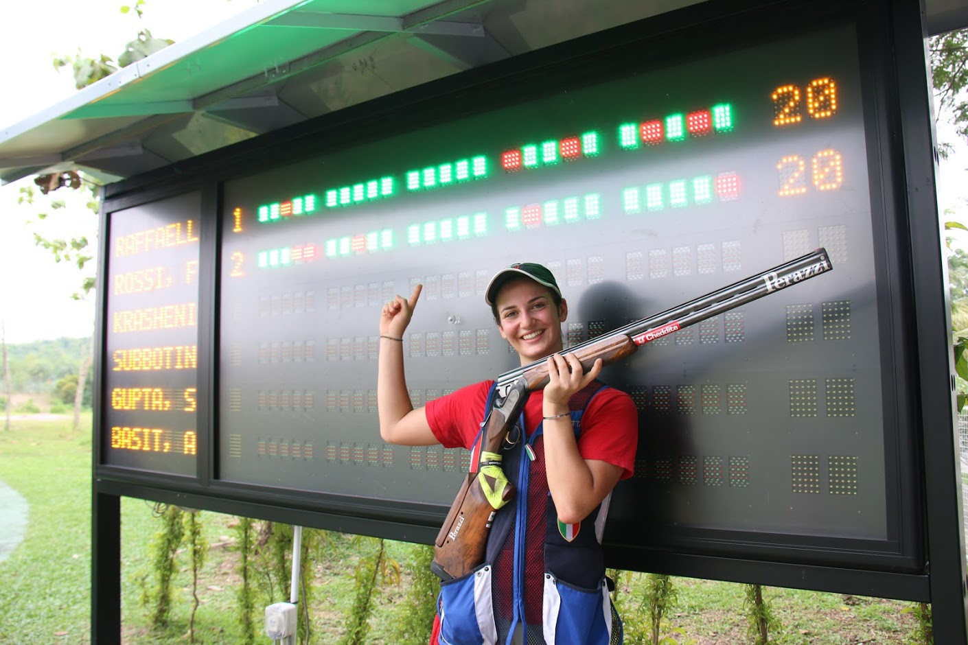 Italy earn double gold on opening day of World University Shooting Championship