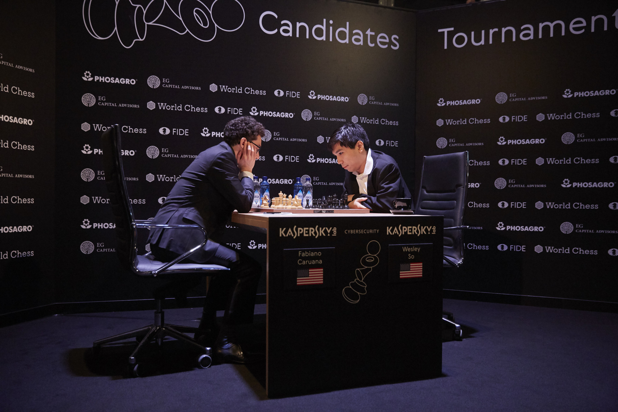 Caruana moves into top spot with win over Kramnik at FIDE Candidates Tournament 2018