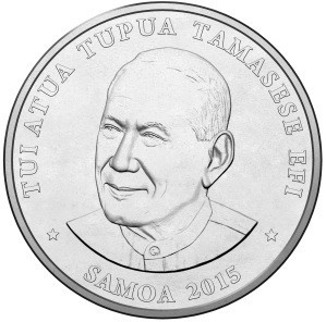 Nine different versions of the coins will be available in order to reflect the sports  on the Apia 2015 schedule