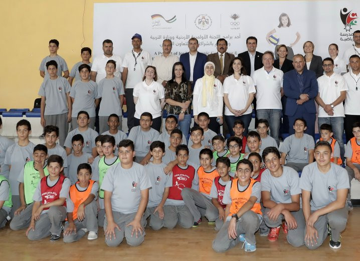 The Jordan Olympic Committee launched their Sport Schools Programme last year ©JOC