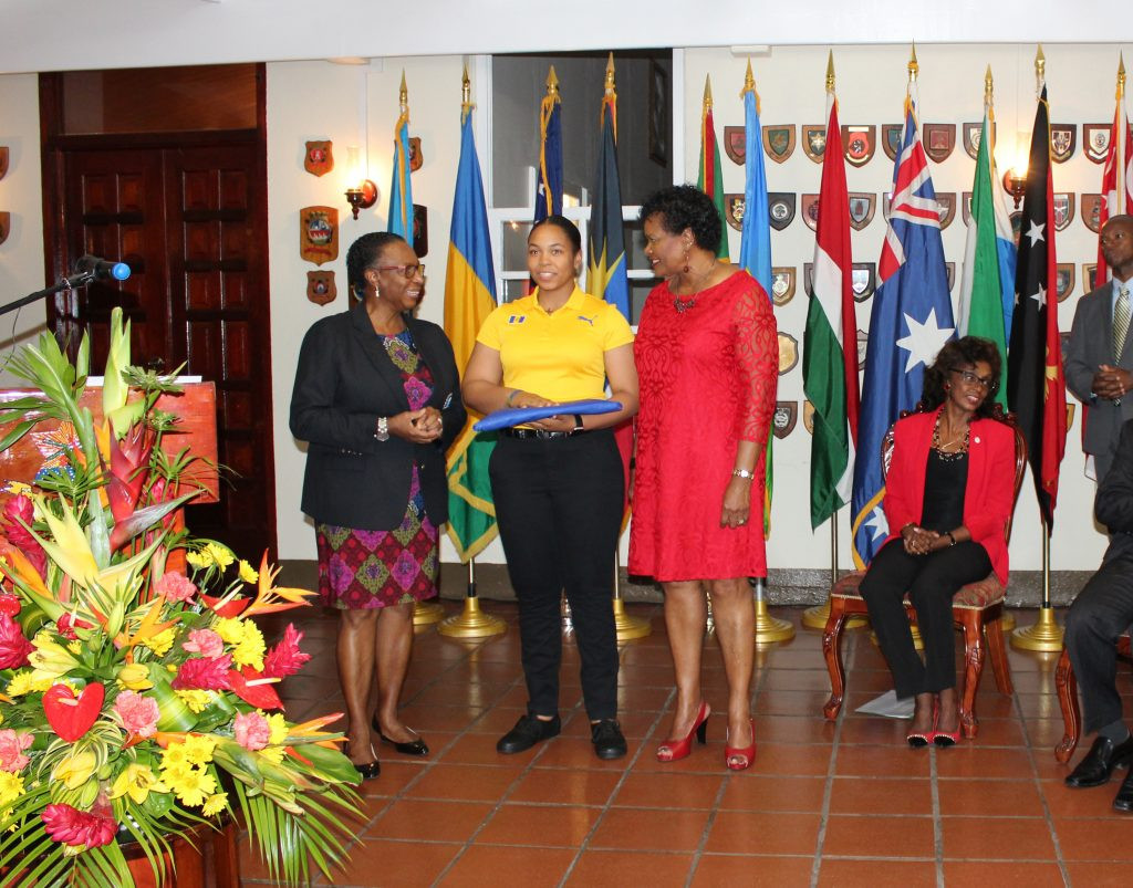 Meagan Best has been named Barbados' flagbearer for the Commonwealth Games ©BOA