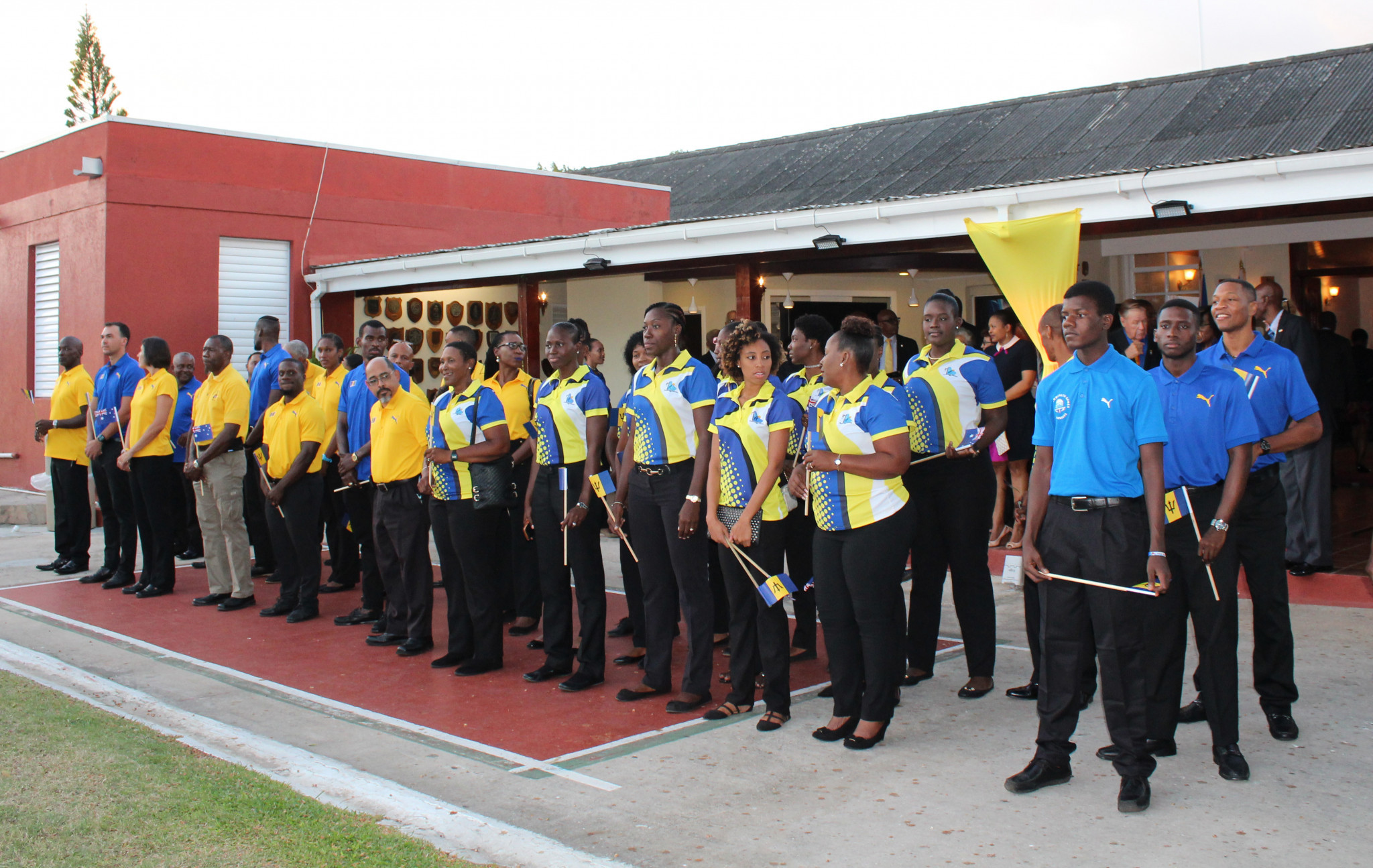 Athletes from 11 Commonwealth sports were present at the event ©BOA