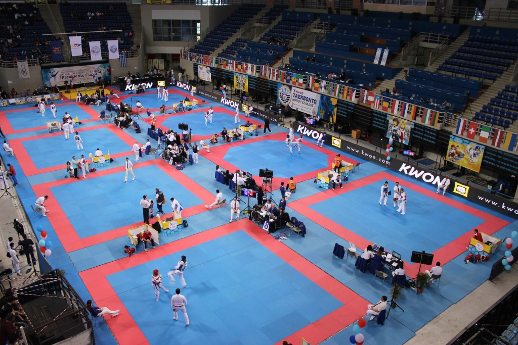 Competition will take place in Athens for the second consecutive year ©WTE