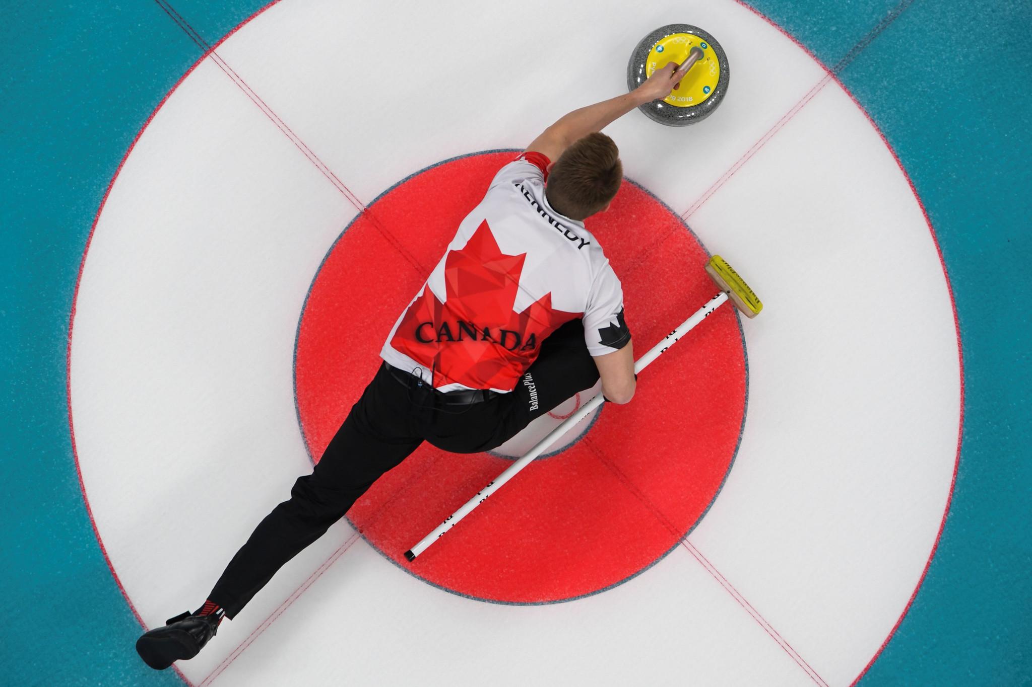 Risultati immagini per 2019 World Men's Curling Championship