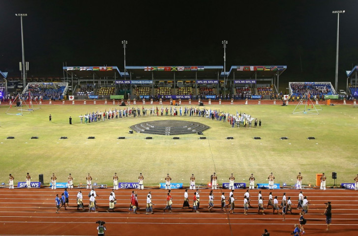 Entertaining Opening Ceremony brings curtain up on Samoa 2015 Commonwealth Youth Games