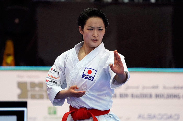 Shimizu out to continue kata domination at WKF Karate1 Premier League in Rotterdam