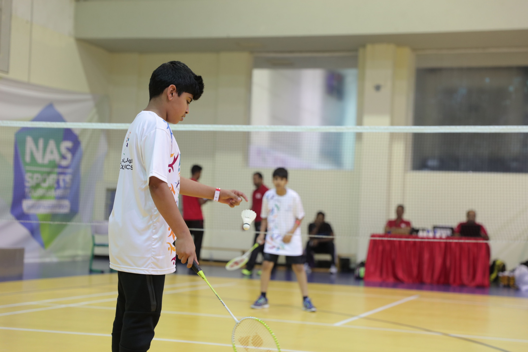 A series of sporting activities took place during the day ©UAE NOC