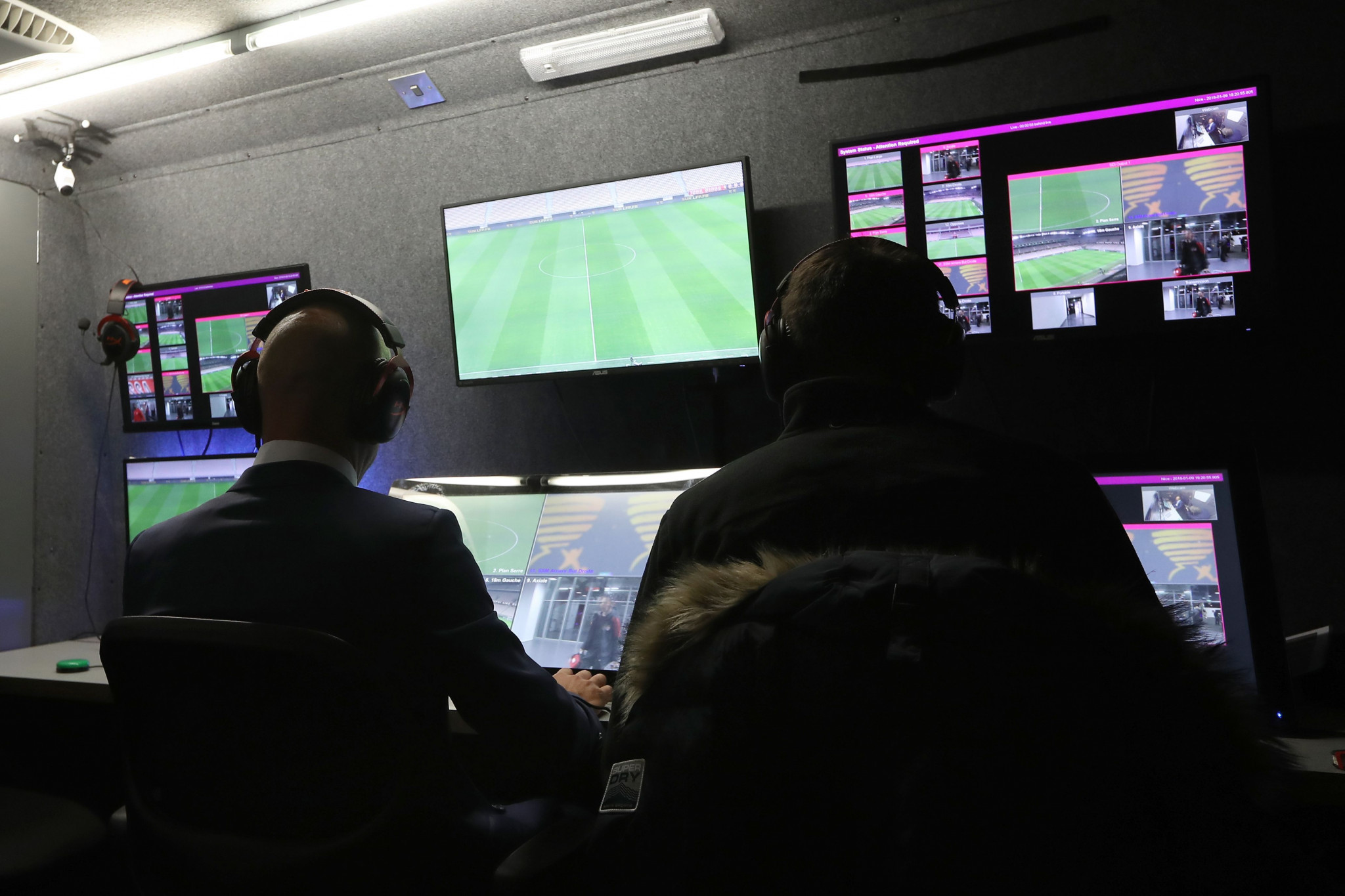 FIFA's ruling Council are expected to give the green light to the use of video assistant referees (VAR) at this year's World Cup in Russia ©Getty Images