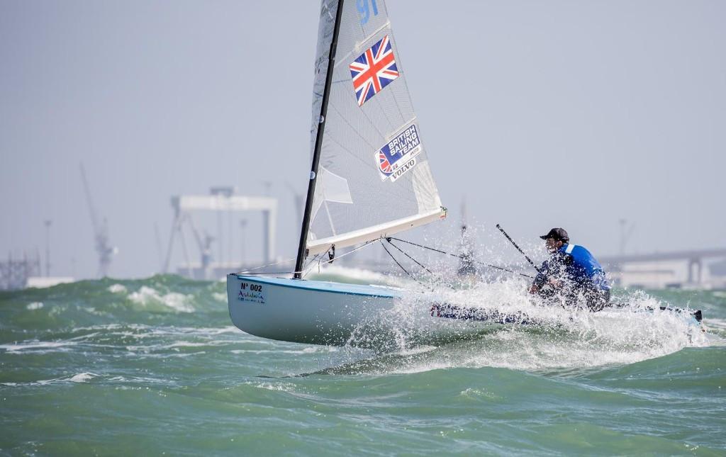 Cornish stars on fourth day of Finn European Championships as Heiner retains lead