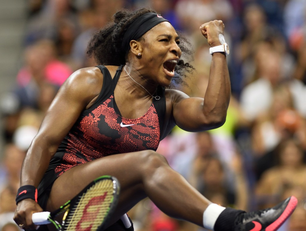 Williams battles into US Open last 16 while Nadal crashes out from two sets up
