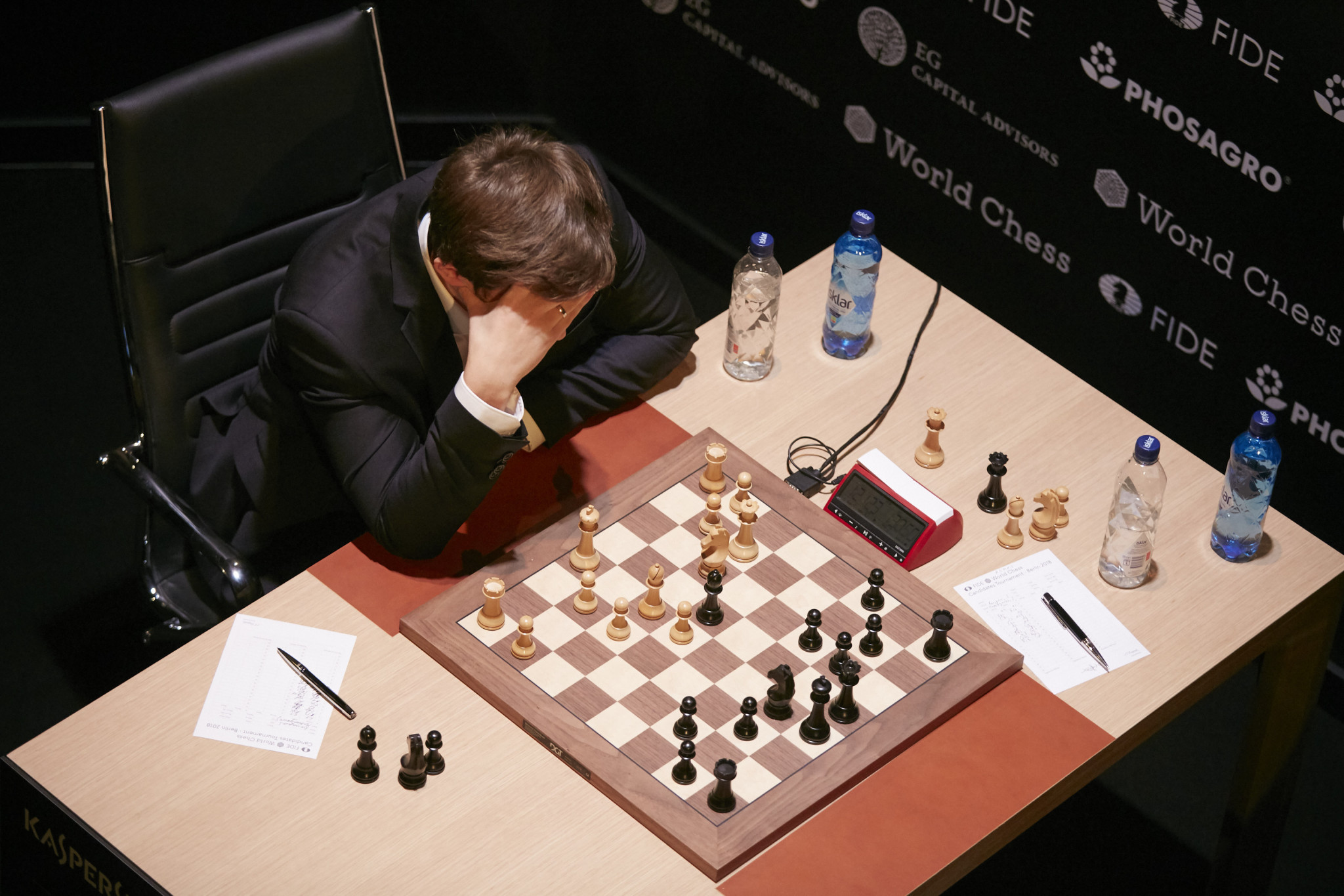 Russian Sergey Karjakin, the runner-up at the World Championship in 2016, is yet to win a match at the Candidates Tournament ©Getty Images