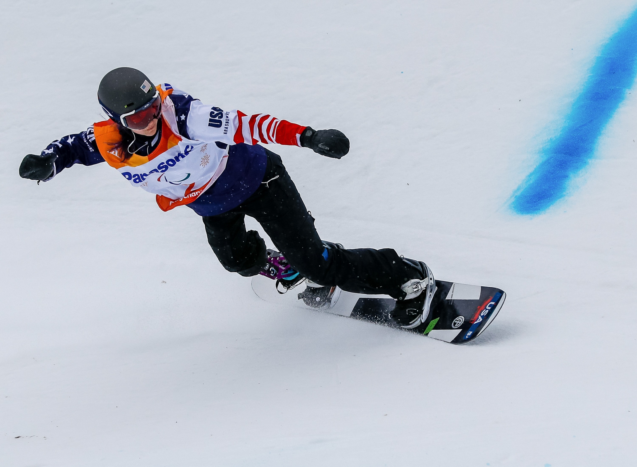 Huckaby and Mentel-Spee seal domination of snowboard events at Pyeongchang 2018