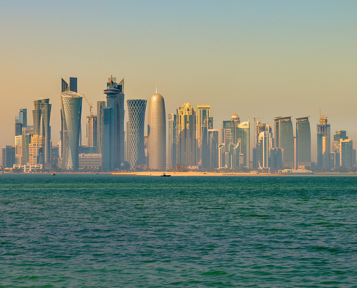 Doha's Corniche waters will form the location for the Marathon Swim World Series leg ©Getty Images