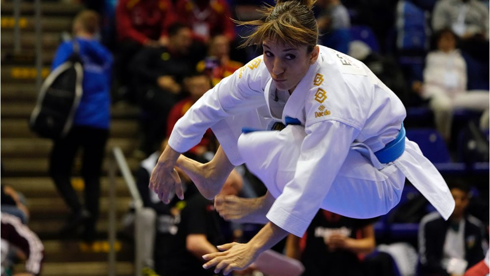 Sanchez impresses on opening day of WKF Karate1 Premier League