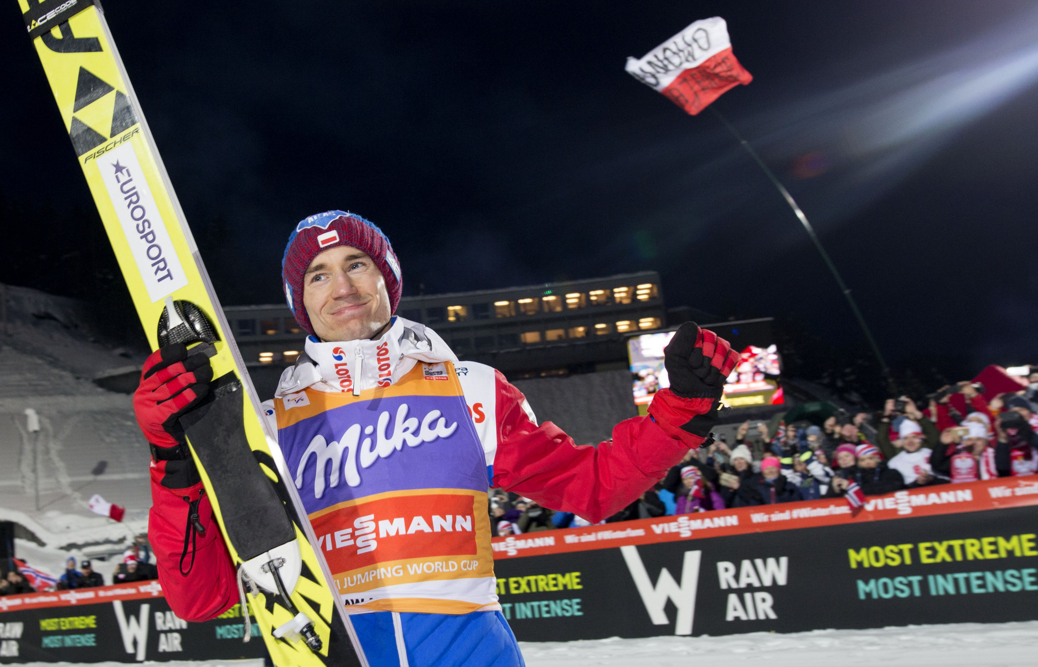 Stoch again sublime at Ski Jumping World Cup in Vikersund