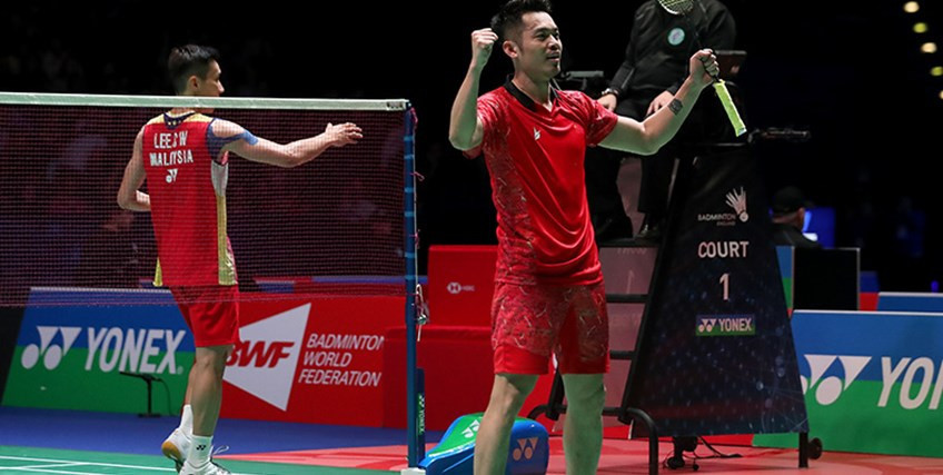 Lin Dan beats Lee Chong Wei in battle of champions at All England Open quarter-finals