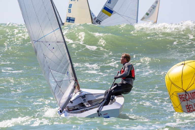 Heiner seeking first Finn European Championships win in medal race face-off with Wright
