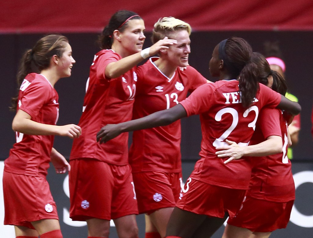 Canada's women will be hoping to retain their women's football title