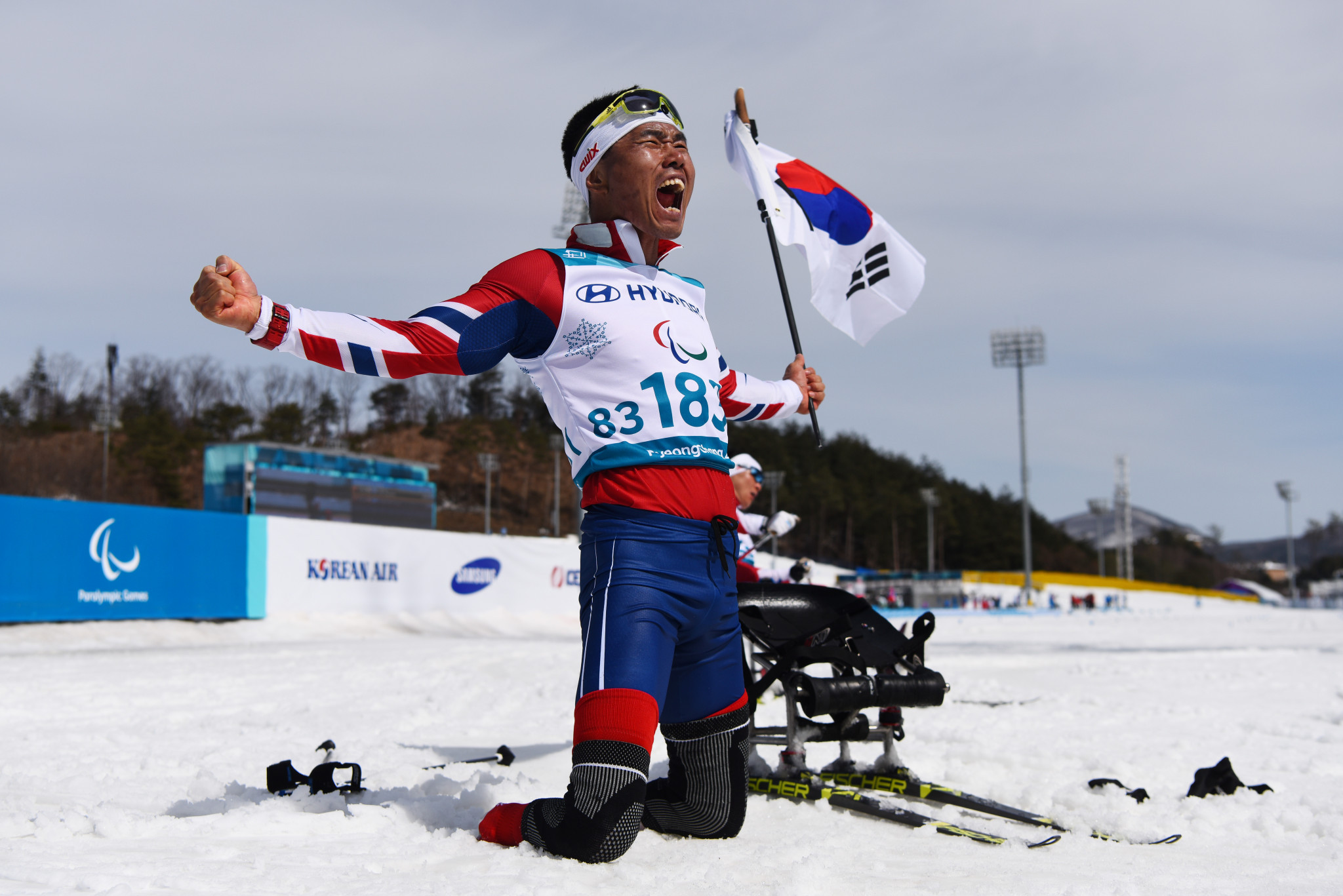 Sin claims South Korea's maiden Winter Paralympic title at Pyeongchang 2018