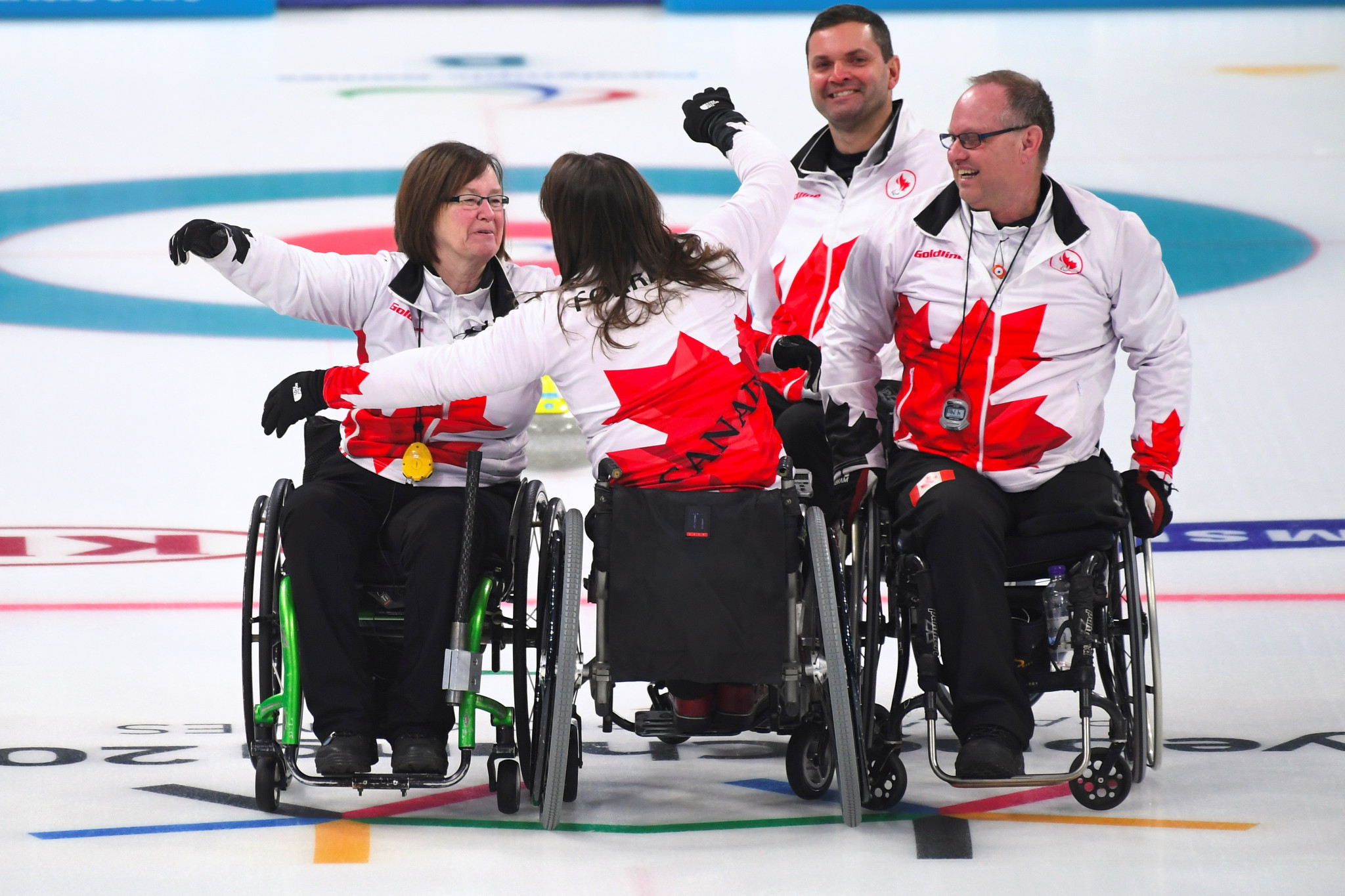 Canada's wheelchair curling team have won a medal at every Paralympic Games competition since the sport's introduction at Turin 2006 ©Getty Images