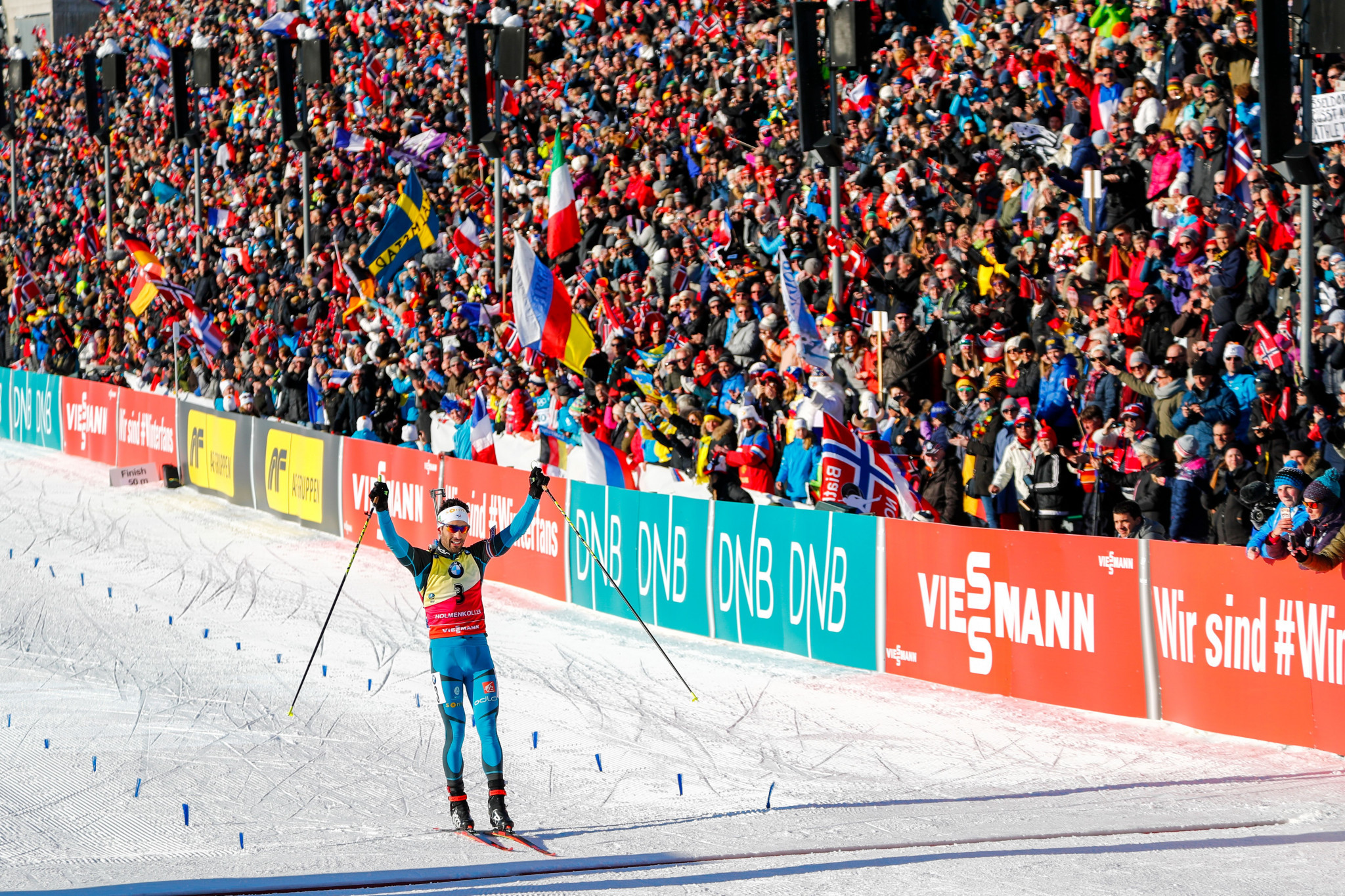 Fourcade takes pursuit honours at Biathlon World Cup in Oslo