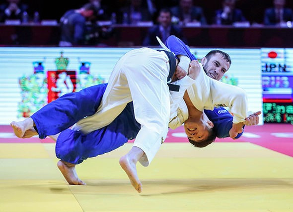 Abe leads way as Japan win treble at IJF Grand Slam
