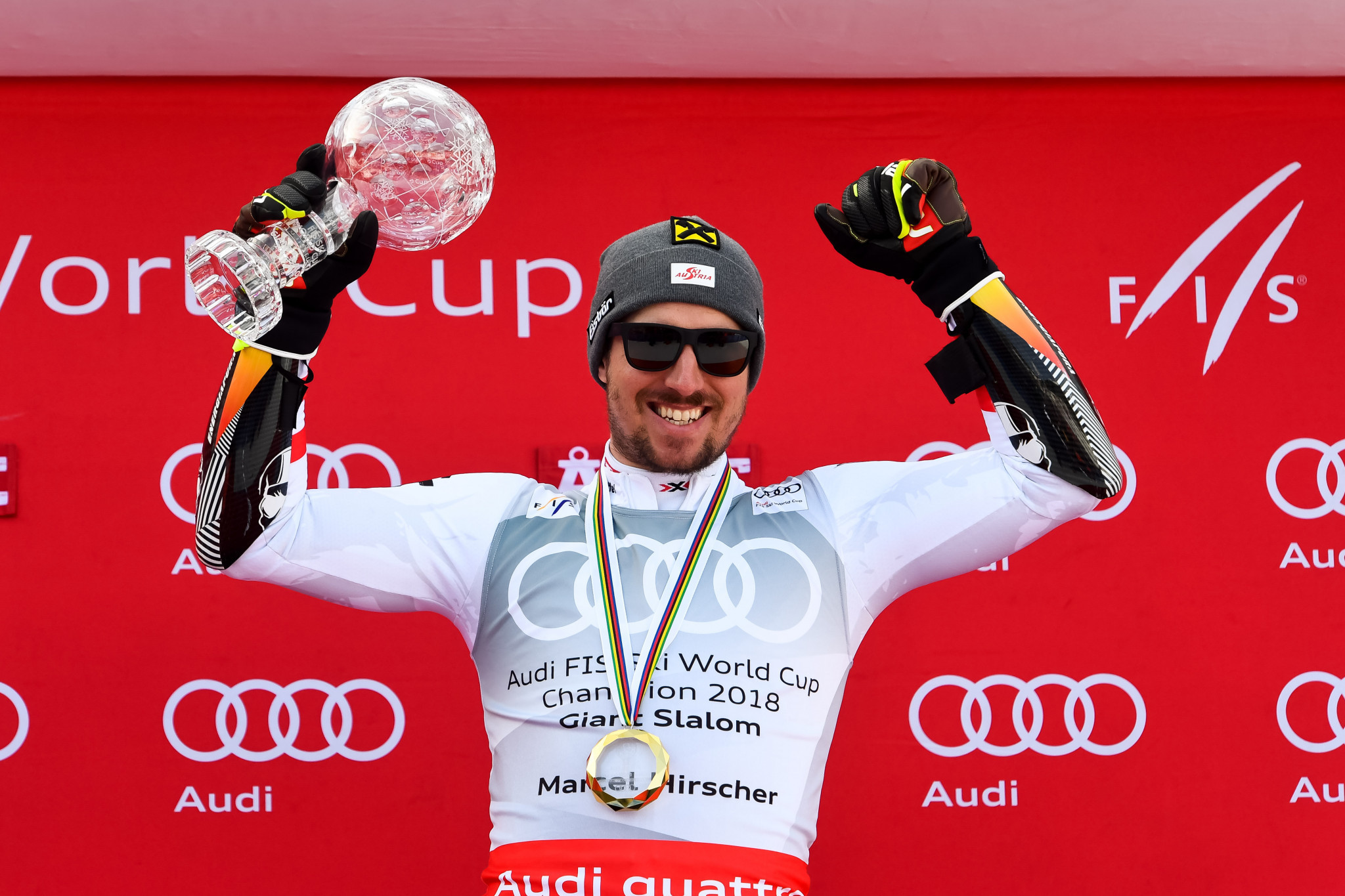 Hirscher wins overall giant slalom title at World Cup Final in Åre