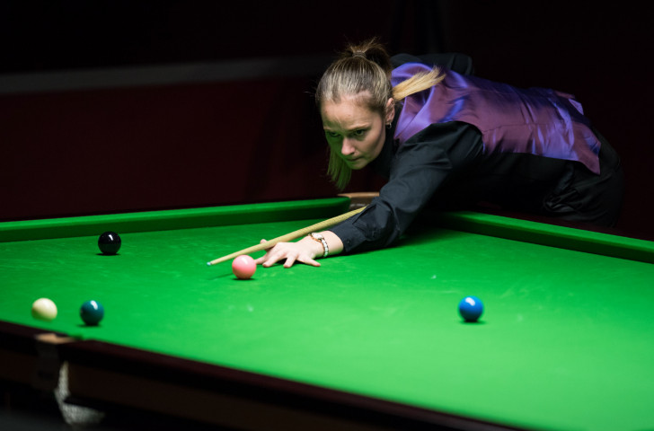 Semi-final defeat ended the hopes of England's Reanne Evans of earning a 12th women's world snooker title in Malta ©Getty Images