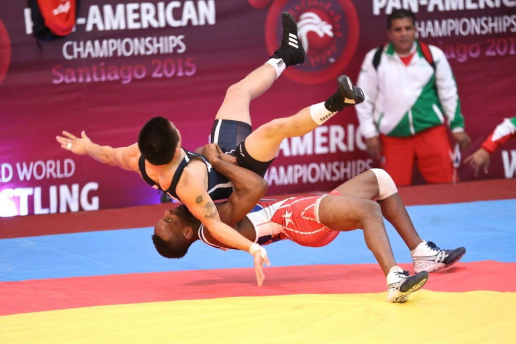 Cuba claim excellent individual haul as America take men's team title at Pan American Wrestling Championships