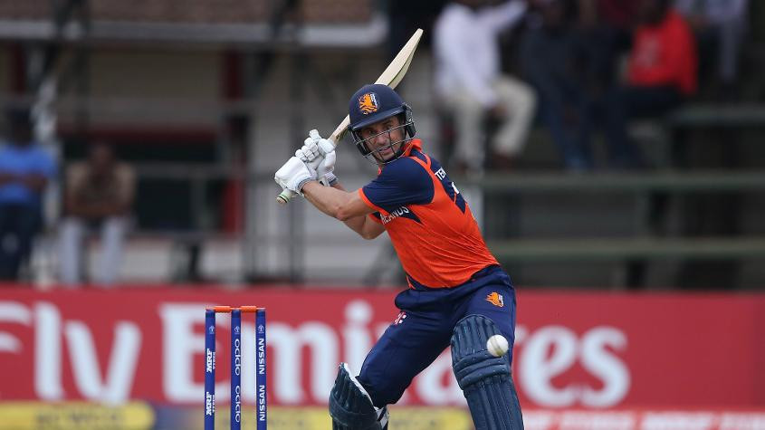Netherlands and Papua New Guinea finish with wins at ICC Cricket World Cup qualifier