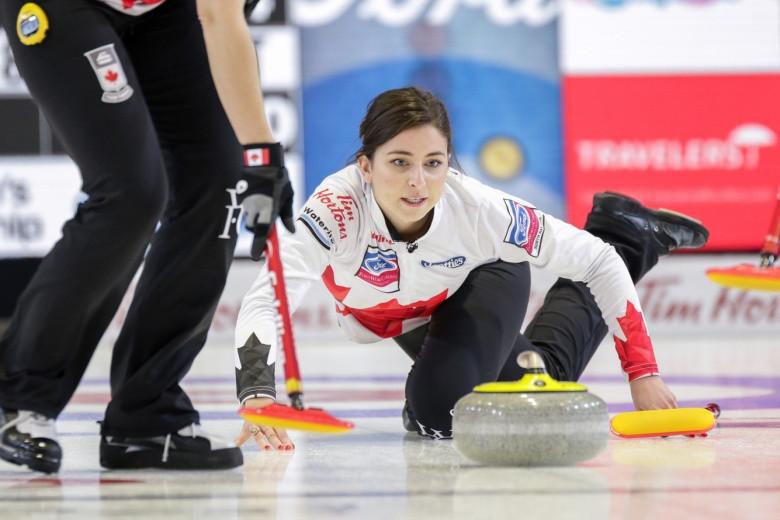 Hosts Canada make good start to World Women's Curling Championships