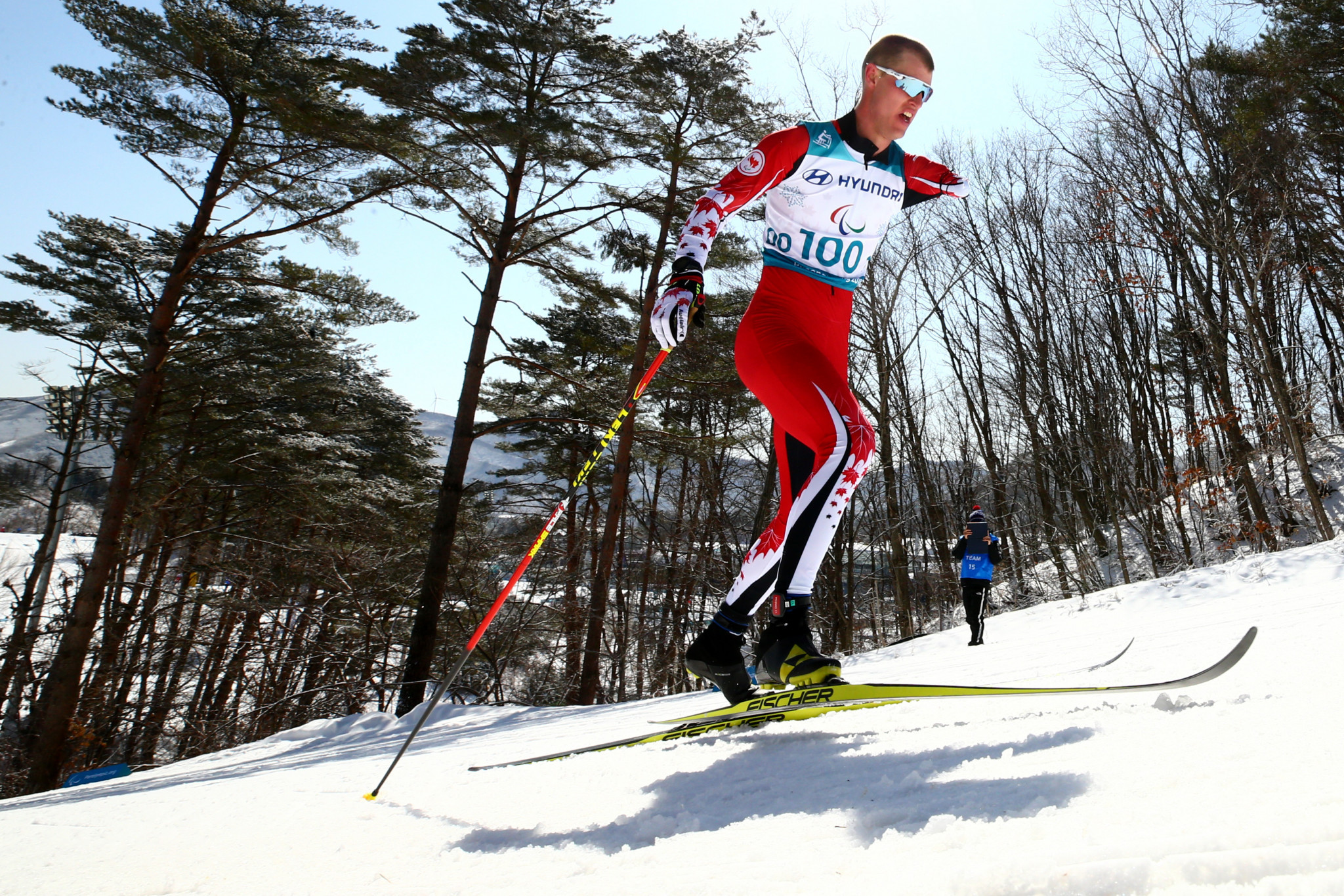 Nordic skier Mark Arendz will be Canada's flagbearer ©Getty Images