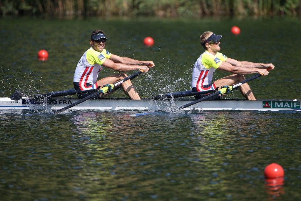 Home gold for Azou and Delayre at World Rowing Championships