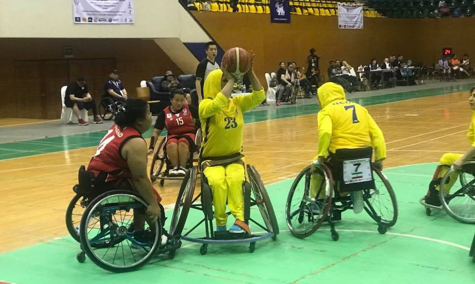 China and Iran win wheelchair basketball qualifying tournament for Asian Para Games