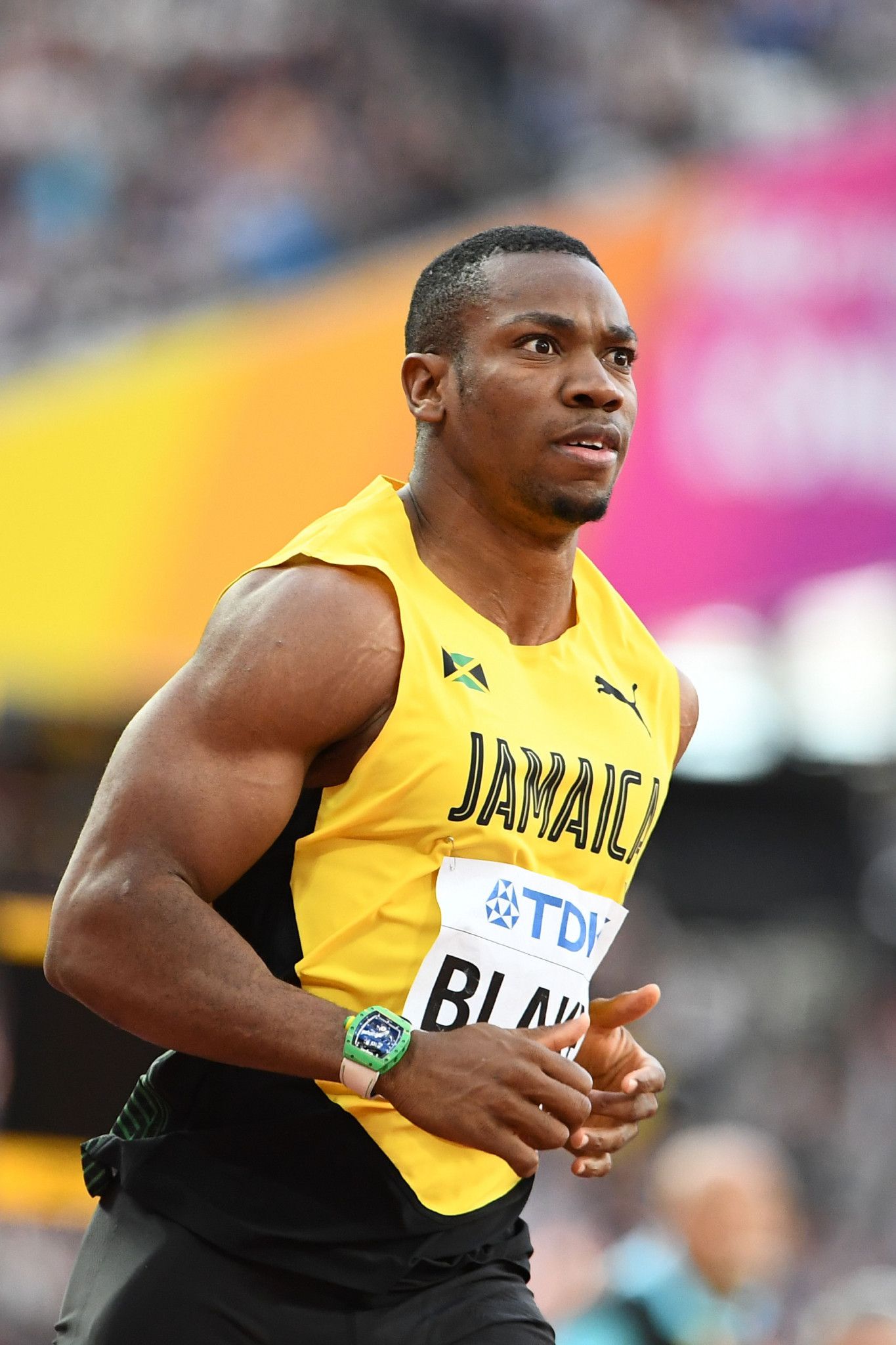 Yohan Blake has been warned by Usain Bolt that he has to win the Commonwealth Games 100 metres title at Gold Coast 2018 or