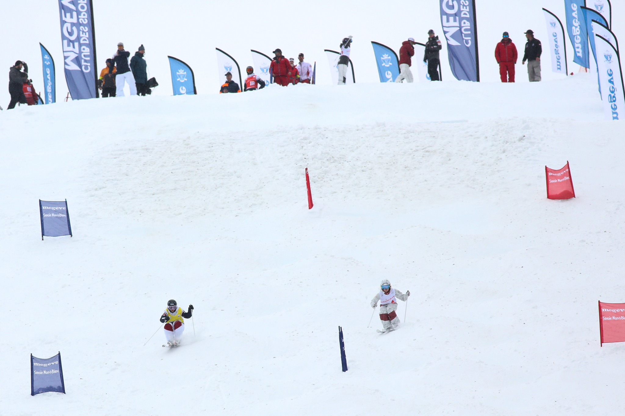Jaelin Kauf beat Perrine Laffont but missed out on the World Cup title ©Getty Images