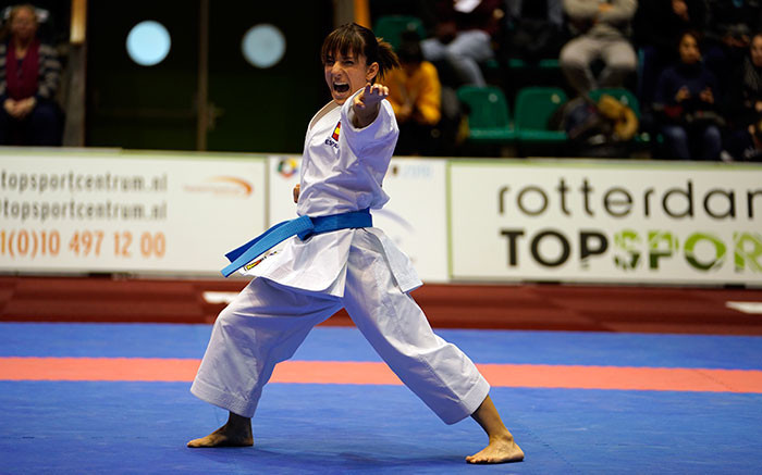 Sanchez secures victory at WKF Karate1 Premier League in Rotterdam