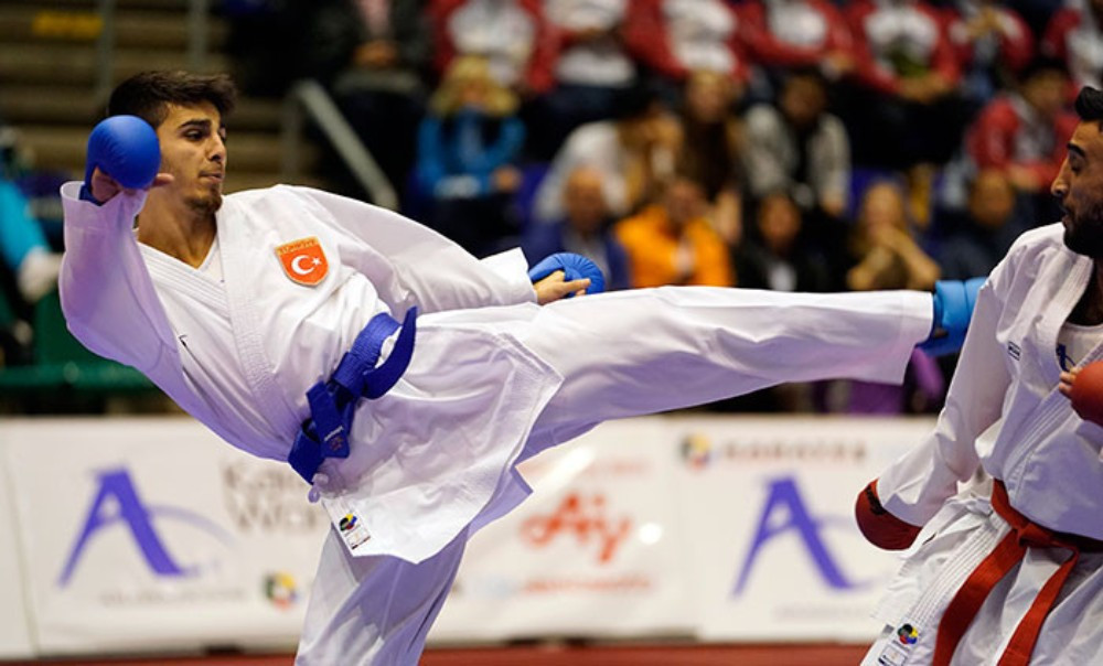 Turkish athletes impressed on the final day of action ©WKF