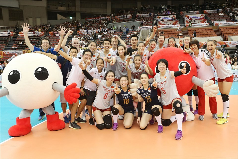 A victory for China in their final match against Japan would see them win their fourth FIVB Women's World Cup title ©FIVB