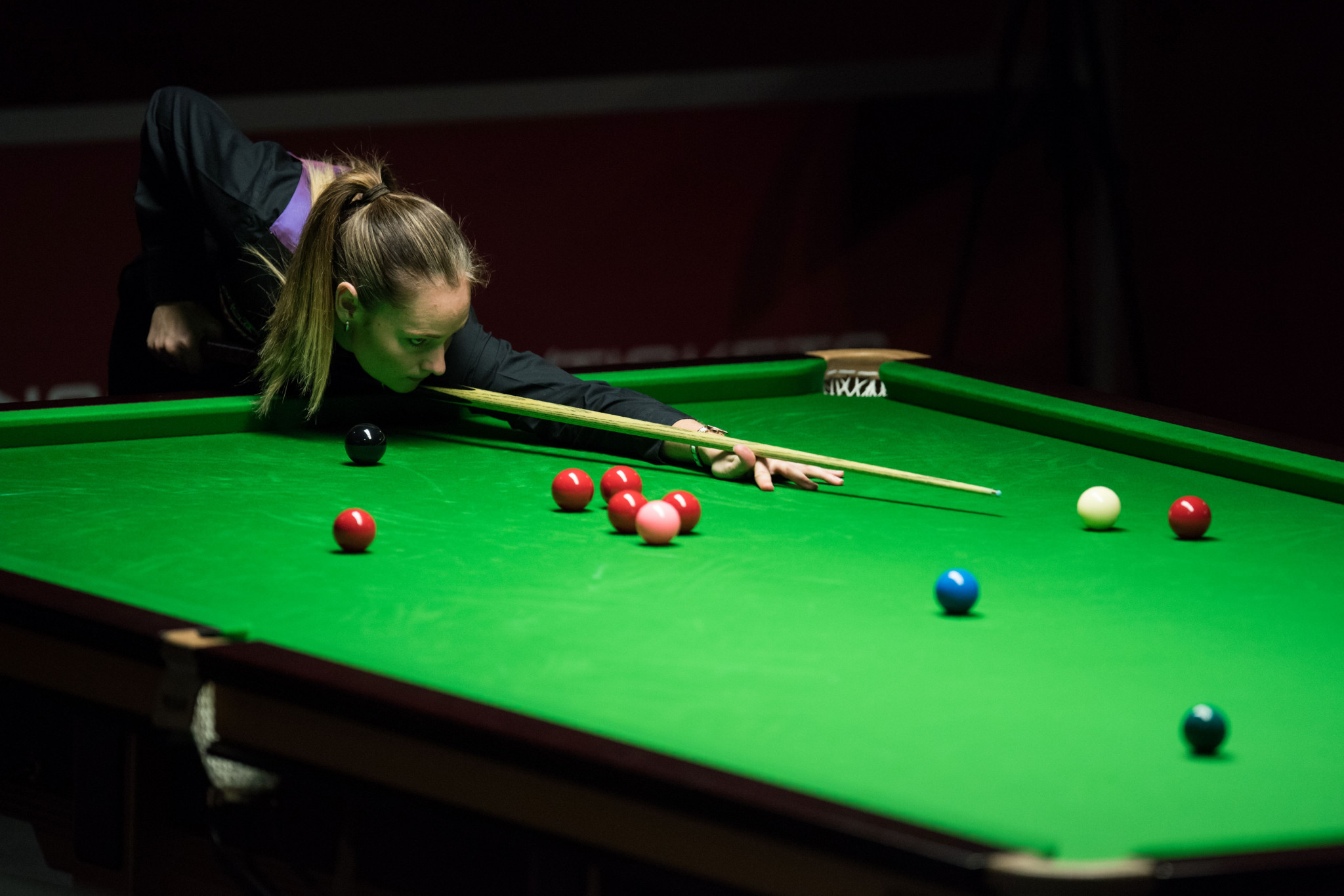 England's Reanne Evans is now involved in group matches in the inaugural WSF World Championships in Malta ©Getty Images