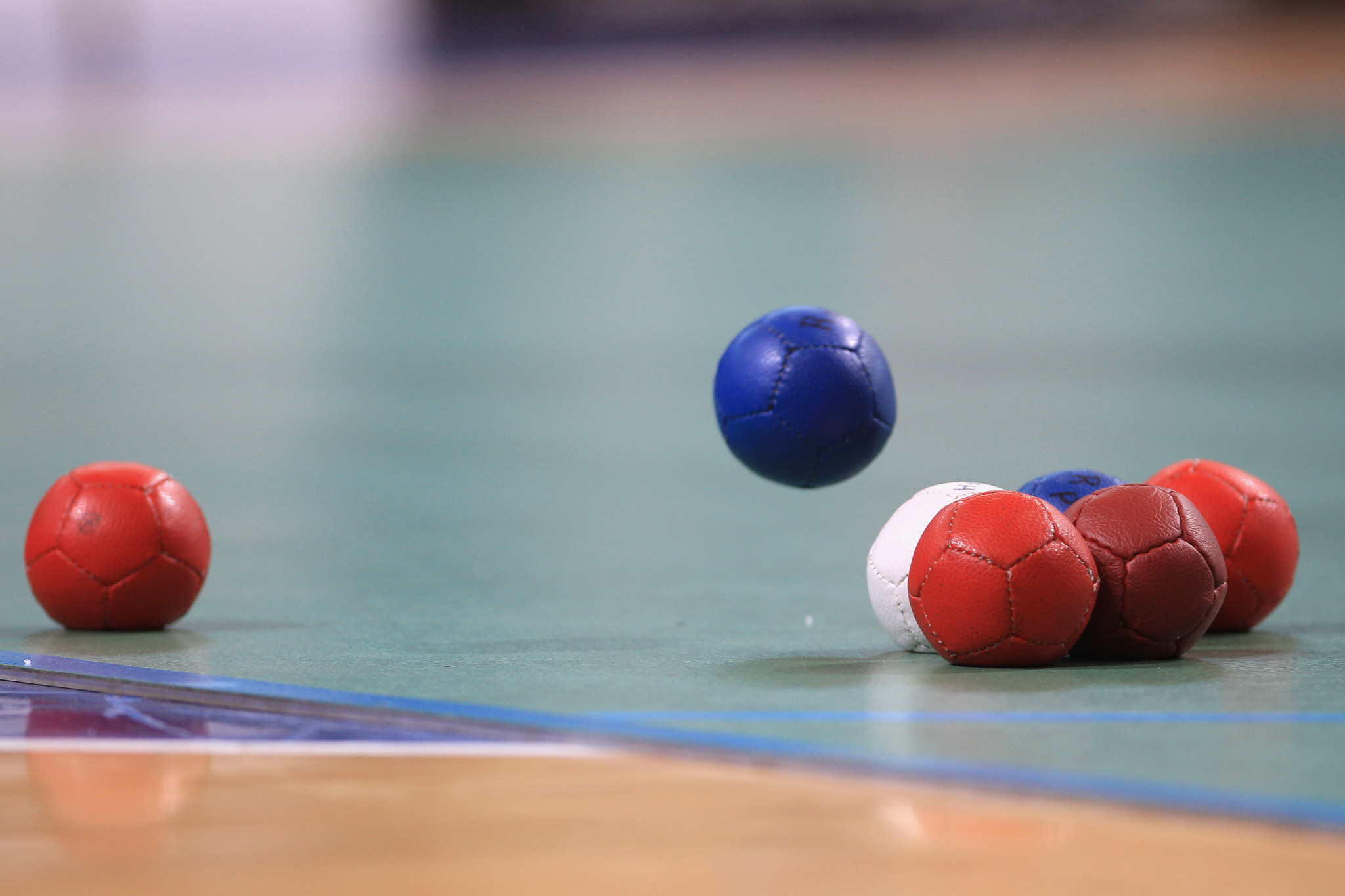 Boccia action took place in Japan ©Getty Images