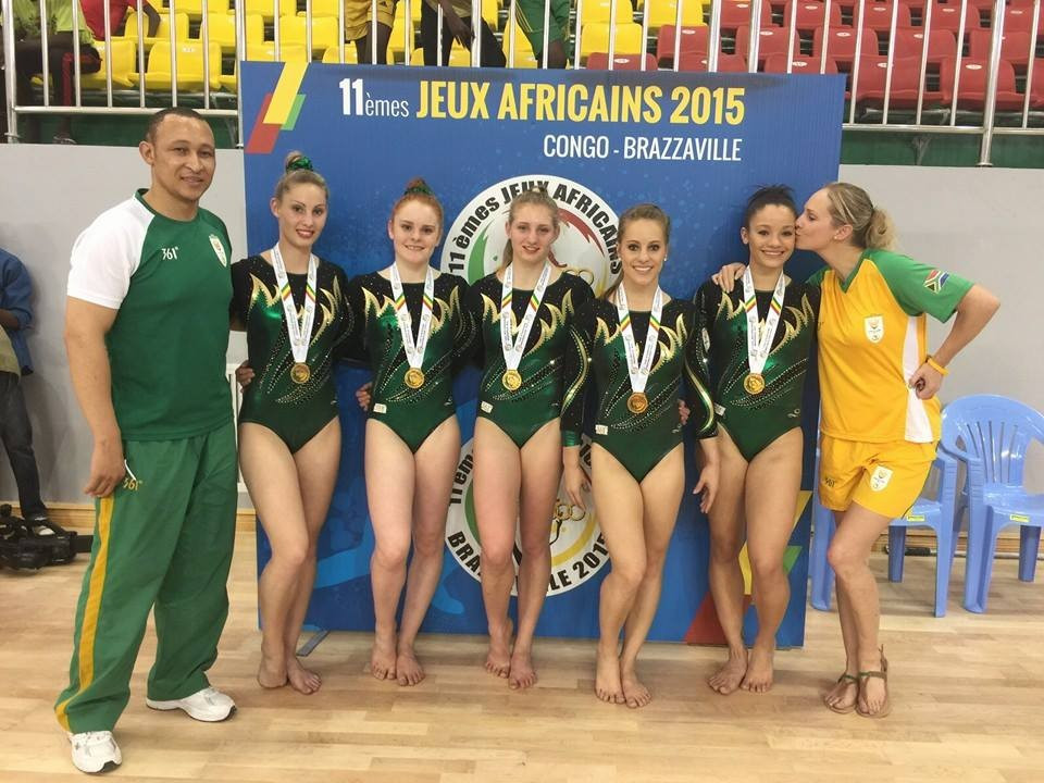 Beckett claims South African gymnastics double as All-Africa Games opens