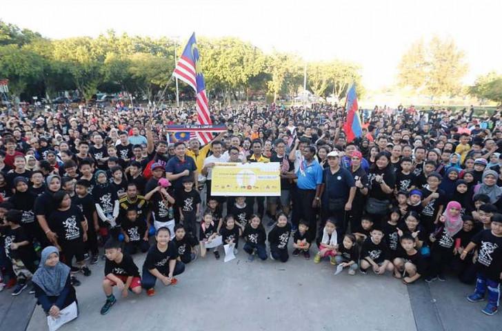 Malaysia's taekwondo athletes played a huge part in helping raise $15,000 for helping refugees through a nationwide sponsored run ©World Taekwondo