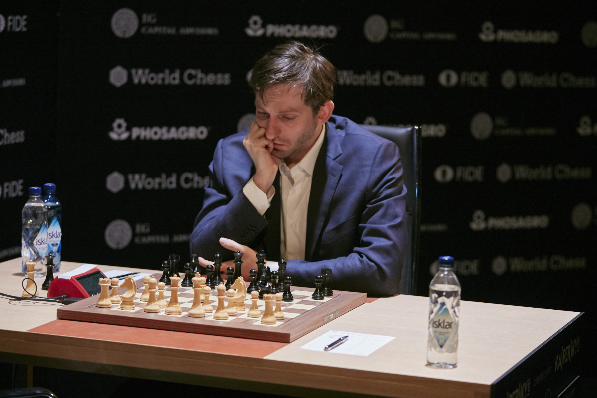Caruana maintains lead but Grischuk moving up at FIDE Candidates Tournament