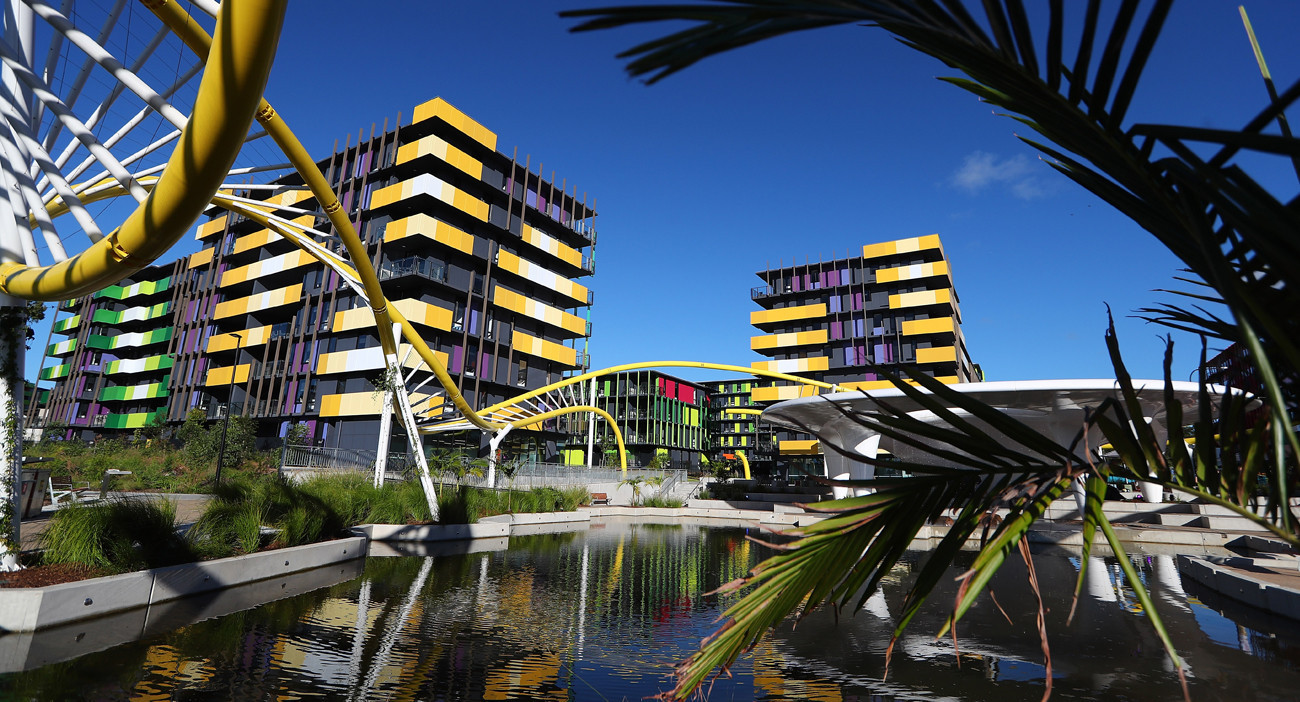 Gold Coast 2018 Athletes' Village praised as soft opening takes place