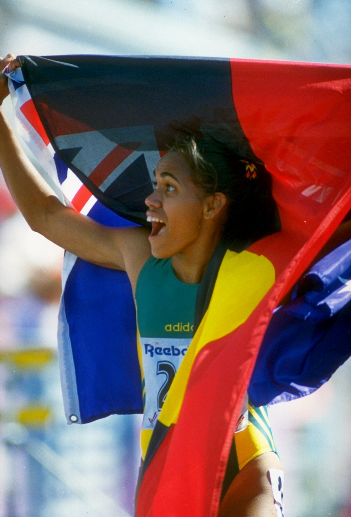 Cathy Freeman is an important figure in the reconciliation between Aboriginal and non-Aboriginal Australians ©Getty Images