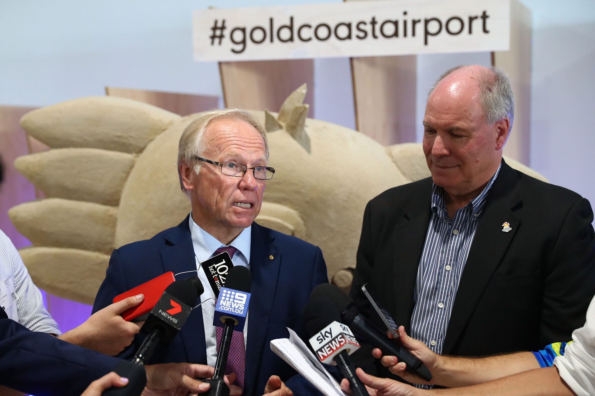 Gold Coast 2018 chairman Peter Beattie has urged people to use public transport during the Commonwealth Games ©Getty Images