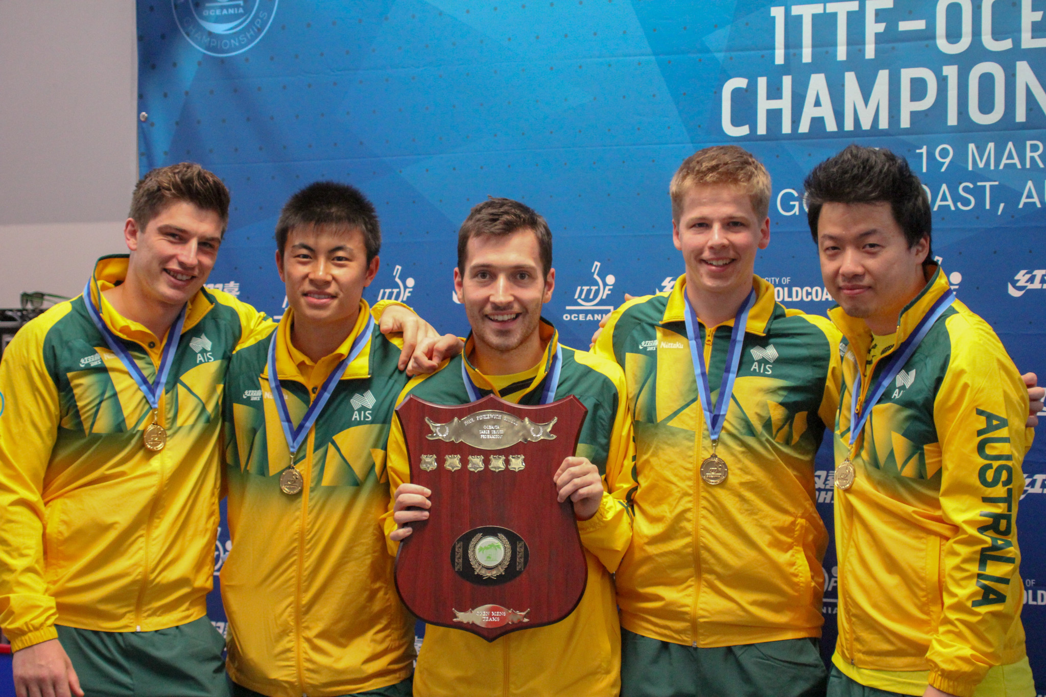 Australia dominate home ITTF Oceania Championships in Gold Coast