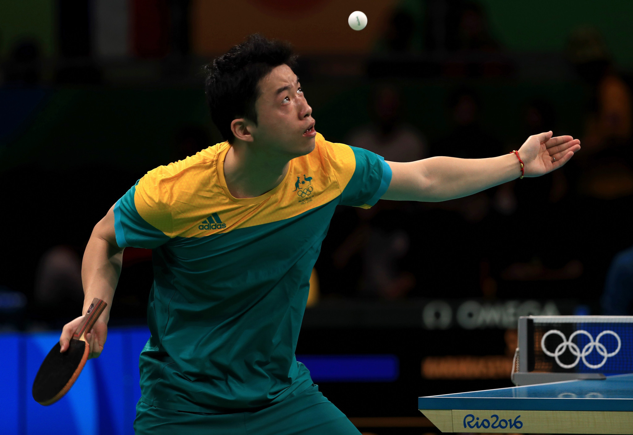 Xin Yan won four gold medals in the men's singles, men's doubles, mixed doubles and team events ©Getty Images